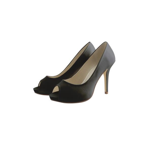 Schuhe schwarz einfarben