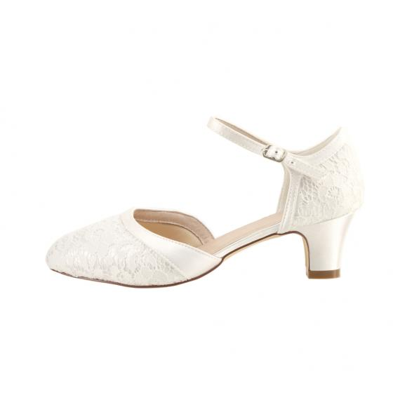 super popular ce7d3 f2036 Ingrid Spitze ivory EXTRA SOFT gepolstert (Brautschuhe Perfect Bridal)