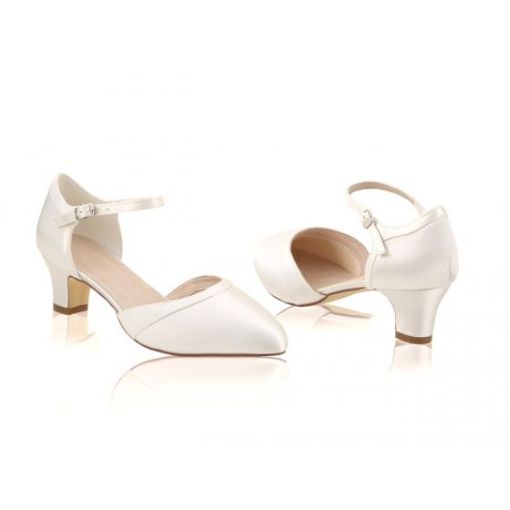 Ingrid Satin ivory EXTRA SOFT gepolstert (Brautschuhe Perfect Bridal)