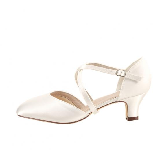 detailed look ea20b b7723 Renate Satin ivory EXTRA SOFT gepolstert (Brautschuhe Perfect Bridal)