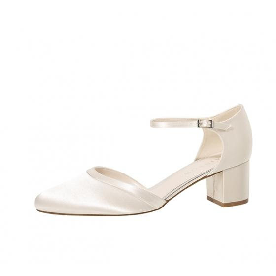 Rainbow Club Brautschuhe Stacy ivory 7 = 40 2/3