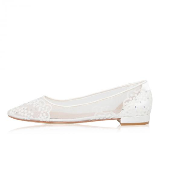 Brautschuhe (Perfect Bridal) Tess Satin ivory