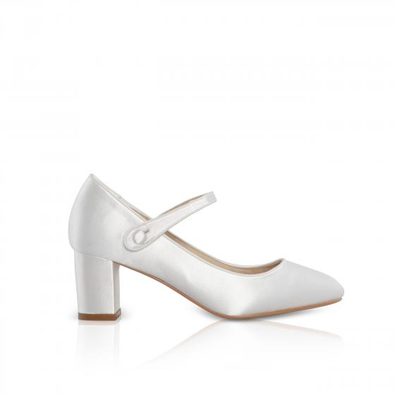 Brautschuhe (Perfect Bridal) Toni Satin ivory