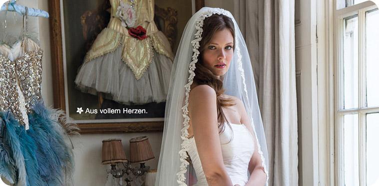 Brautschleier und Haarschmuck f�r die Braut