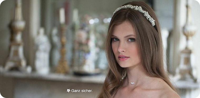 Haarschmuck glanzvolle Braut