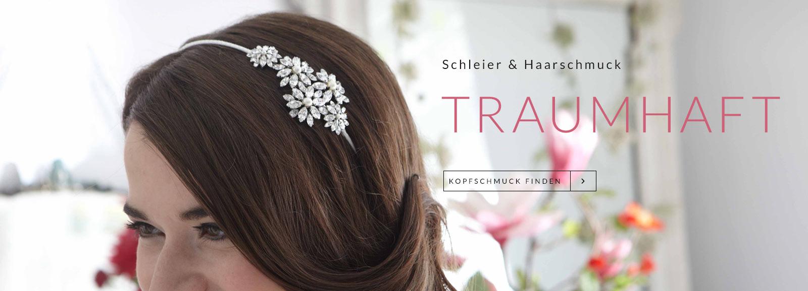 Traumhafter Haarschmuck für die Braut